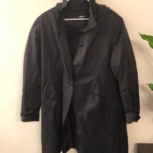DKNY soft shell coat